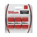 Wilson Profile 0.6mm Overgrip 3er rot