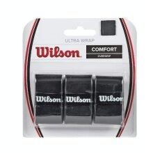 Wilson Ultra Overgrip 3er schwarz