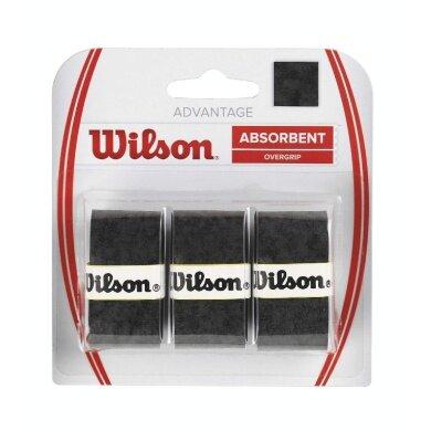 Wilson Advantage Overgrip 3er schwarz