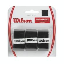 Wilson Overgrip Pro Soft 0.55mm schwarz 3er