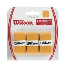 Wilson Pro Soft Overgrip 3er gold
