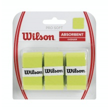Wilson Overgrip Pro Soft 0.55mm lime 3er