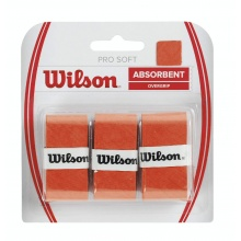 Wilson Pro Soft Overgrip 3er orange