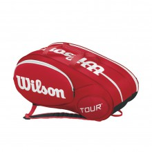 Wilson Racketbag Tour Molded 2.0 2015 rot 6er