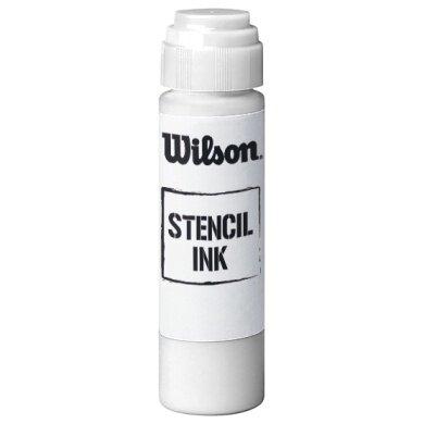 Wilson Saitenstift für Beschriftung - Flasche 30ml - weiss