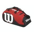 Wilson Tennistasche Match II 2016 schwarz/rot