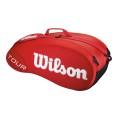 Wilson Racketbag Tour 2014 rot 6er