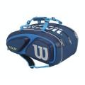 Wilson Racketbag Tour V 2016 blau 15er