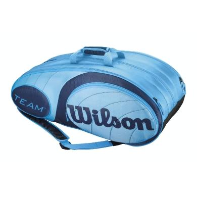 Wilson Racketbag Team 2014 blau 12er
