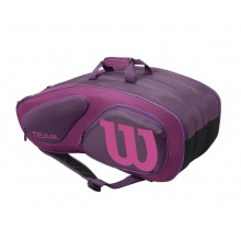Wilson Racketbag Team II 2016 purple 12er