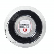 Wilson Synthetic Gut Power 1.30 schwarz 200 Meter Rolle