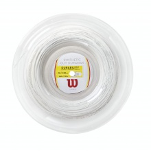 Wilson Synthetic Gut Duramax weiss  200 Meter Rolle