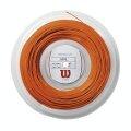 Wilson Tennissaite Revolve (Spin+Haltbarkeit) orange 200m Rolle