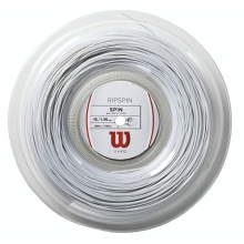 Wilson RipSpin weiss 200 Meter Rolle