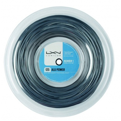 Luxilon Alu Power 1.25 silber 220 Meter Rolle