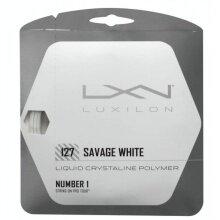 Luxilon Savage weiss Tennissaite