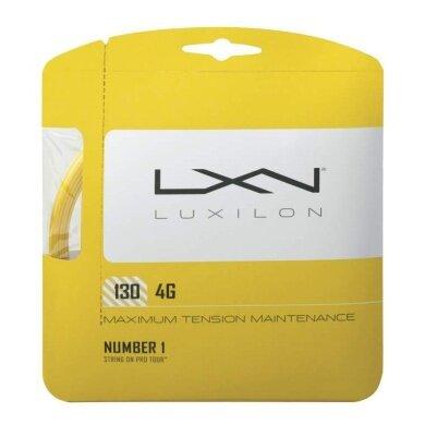 Luxilon 4G gelb Tennissaite