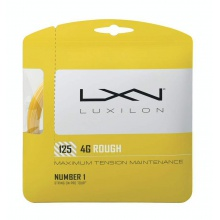 Luxilon 4G Rough 1.25 gelb Tennissaite