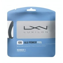 Luxilon Alu Power Feel 1.20 Tennissaite silber 12m Set