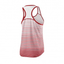 Wilson Tank Team Striped 2018 rot/weiss Damen