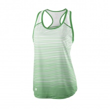 Wilson Tank Team Striped 2018 grün/weiss Girls