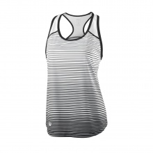 Wilson Tank Team Striped 2018 schwarz/weiss Girls