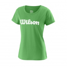 Wilson Shirt Team Logo 2018 grün Damen