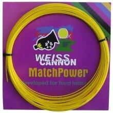 WeissCannon MatchPower gelb Tennissaite