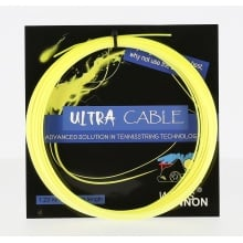 Besaitung mit WeissCannon Ultra Cable gelb