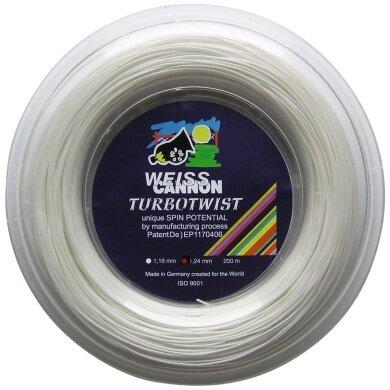 WeissCannon Turbo Twist 200 Meter Rolle
