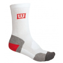 Wilson Tennissocke Balance Point weiss Herren 1er