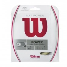 Wilson Tennissaite NXT Power (Armschonung+Power) natur 12m Set
