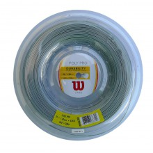 Wilson Poly Pro silber 200 Meter Rolle