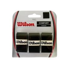 Wilson Pro 0.6mm Overgrip 3er schwarz