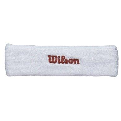 Wilson Stirnband weiss