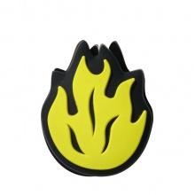 Wilson Schwingungsdämpfer Flamme schwarz/gelb - 1 Stück