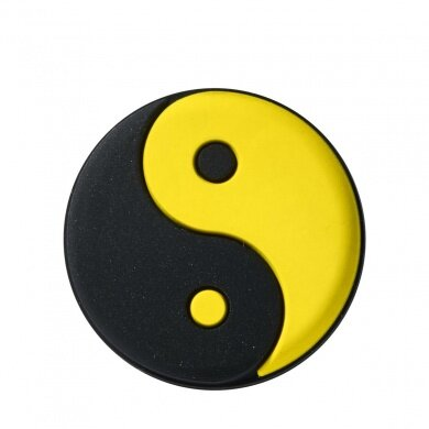 Wilson Schwingungsdämpfer Ying Yang schwarz/gelb - 1 Stück