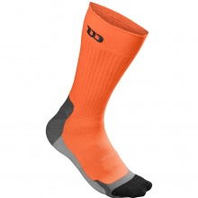 Wilson Tennissocke Color High End Crew orange Herren 1er