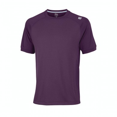 Wilson Tshirt Late Summer Novelty 2015 plum Herren