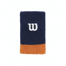 Wilson Schweissband Jumbo 2016 navy/orange 2er