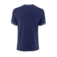 Wilson Tshirt Team Solid 2018 dunkelblau Herren