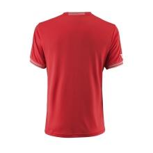 Wilson Tshirt Team Solid 2018 rot Herren