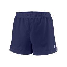 Wilson Tennishose Short Team 3.5 dunkelblau Mädchen