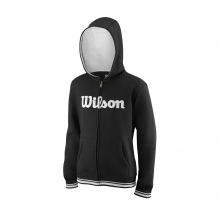 Wilson Hoodie Team Full Zip 2018 schwarz Boys/Girls