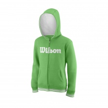 Wilson Hoodie Team Full Zip 2018 grün Boys/Girls