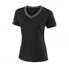 Wilson Shirt Team V-Neck 2018 schwarz Damen