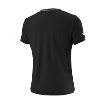 Wilson Shirt Team V-Neck 2018 schwarz Girls