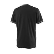 Wilson Tshirt Team Solid 2018 schwarz Boys