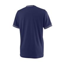 Wilson Tshirt Team Solid 2018 dunkelblau Boys