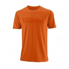 Wilson Tshirt Team Logo 2018 Burn orange Herren